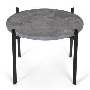 Ox Denmarq Single Deck Pöytä Harmaa Marmori / Musta