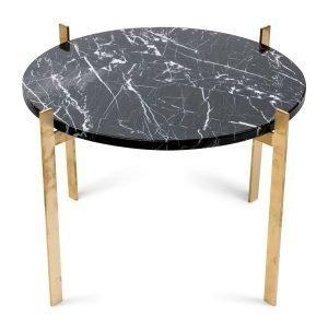 Ox Denmarq Single Deck Pöytä Musta Marmori / Messinki