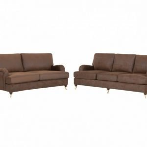 Oxford 3+2 Ruskea