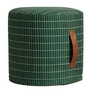 Oyoy Sit On Me Cylinder Istuintyyny Vihreä 40x37 Cm