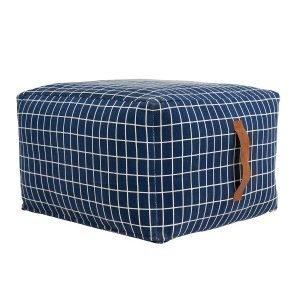 Oyoy Sit On Me Square Istuintyyny Sininen 50x50x32 Cm