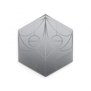 Petite Friture Mask Seinäpeili Hexagon