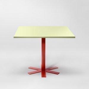 Petite Friture Parrot Pöytä Vaaleankeltainen 90x90 Cm
