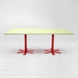 Petite Friture Parrot Pöytä Vaaleanpunainen 90x200 Cm
