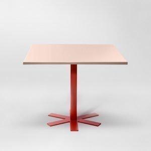 Petite Friture Parrot Pöytä Vaaleanpunainen 90x90 Cm