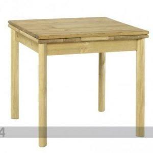 Pinus Jatkettava Ruokapöytä Tirza Mänty 80x80-140 Cm