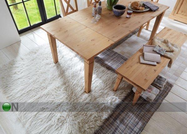 Pinus Jatkettava Ruokapöytä Windsor Mänty 90x140-190 Cm
