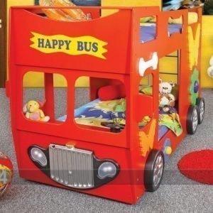 Plastiko Kerrossänky Happy Bus 90x190 Cm