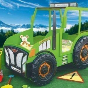Plastiko Lasten Sänkysarja Traktori 90x180 Cm