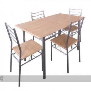 Pold Ruokapöytä Baremen+4 Tuolia