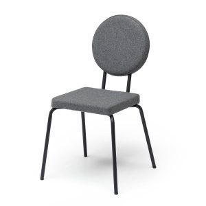 Puik Option Tuoli Nelikulmainen / Pyöreä Harmaa