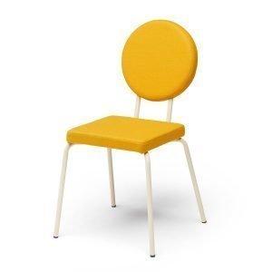 Puik Option Tuoli Nelikulmainen / Pyöreä Keltainen