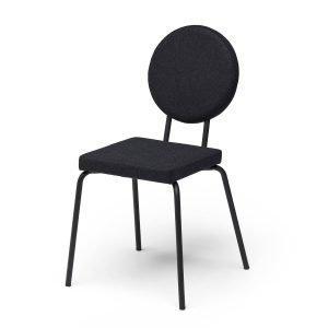 Puik Option Tuoli Nelikulmainen / Pyöreä Musta