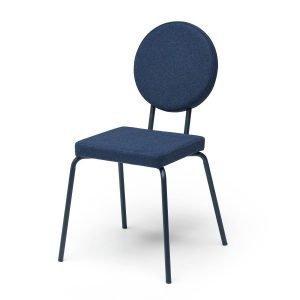 Puik Option Tuoli Nelikulmainen / Pyöreä Tummansininen