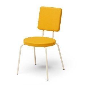 Puik Option Tuoli Pyöreä / Nelikulmainen Keltainen