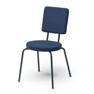 Puik Option Tuoli Pyöreä / Nelikulmainen Tummansininen