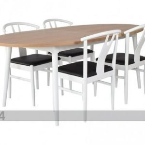 Rge Jatkettava Ruokapöytä AsperÖ 2