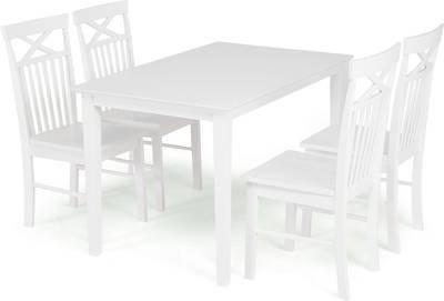Ruokailuryhmä Annikki 4 tuolia