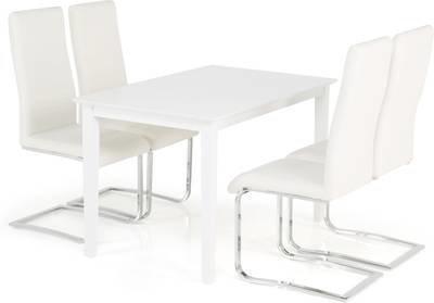 Ruokailuryhmä Annikki 4:llä Johnny tuolilla valkoinen