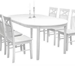 Ruokailuryhmä Arja pöytä ja Annikki tuolit