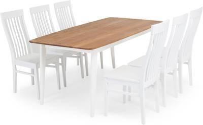 Ruokailuryhmä Aukusti 6 tuolia