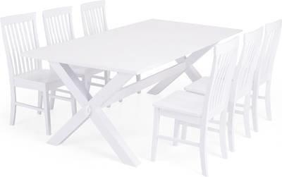 Ruokailuryhmä Tuula/Ann-Christine Valk 6 tuolia