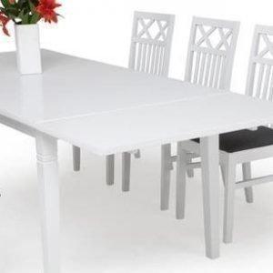 Ruokapöydän jatkokappale Thomas valkoinen