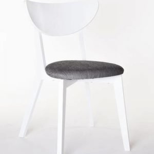 Ruokapöydän tuoli Jonna valkoinen