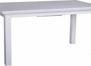 Ruokapöytä Adele jatkolevyllä valkoinen mahonki