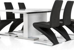 Ruokapöytä Hans 6:lla tuolilla