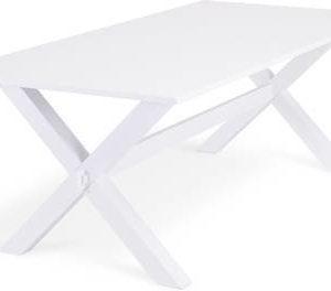 Ruokapöytä Tuula 200 cm ristijalka/valk