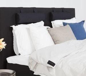 Sängynpääty Ilona 160x125 cm musta