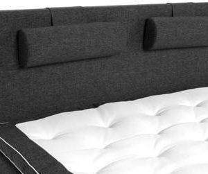Sängynpääty Madeleine 180x125 cm tummanharmaa
