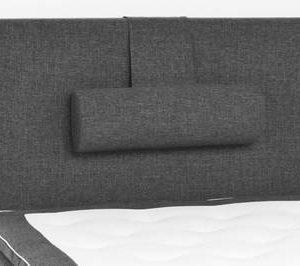 Sängynpääty Perus 120x125 cm tummanharmaa