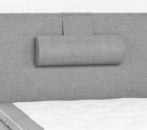 Sängynpääty Perus 120x125 cm vaaleanharmaa