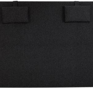 Sängynpääty Perus 140x125 cm musta