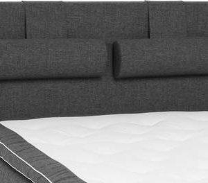 Sängynpääty Perus 140x125 cm tummanharmaa