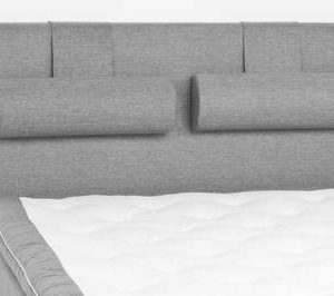 Sängynpääty Perus 140x125 cm vaaleanharmaa