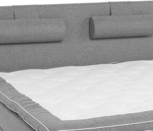 Sängynpääty Perus 160x125 cm vaaleanharmaa