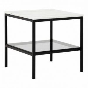 Sandy Sivupöytä 50 Musta/Valkoinen