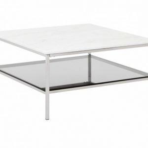Sandy Sohvapöytä 90 Teräs/Valkoinen