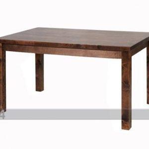 Sc Ruokapöytä Koivu 80x130 Cm