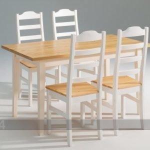 Scala Ruokapöytä Scala Mänty 90x140 Cm