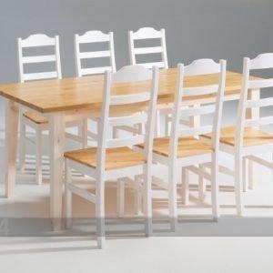 Scala Ruokapöytä Scala Mänty 90x180 Cm