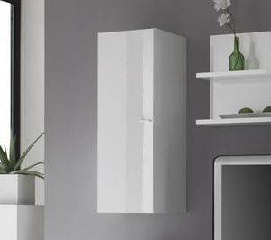 Seinäkaappi Kim 94x33.5x36 cm valkoinen