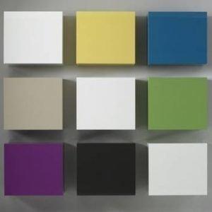 Seinäkaappi Pito 51x57x31 cm 1-ovinen valkoinen
