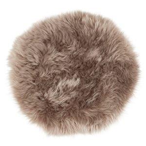 Shepherd Moa Pyöreä Istuintyyny Pitkäkarvainen Mush 45x35 Cm