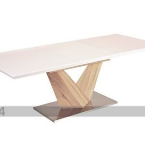 Signal Jatkettava Ruokapöytä Alaras 90x160-220 Cm