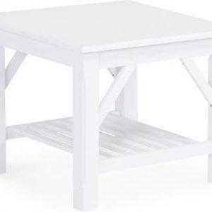 Sivupöytä Tuula 60x60 valkolakattu
