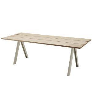 Skagerak Overlap Pöytä Valkoiset Jalat